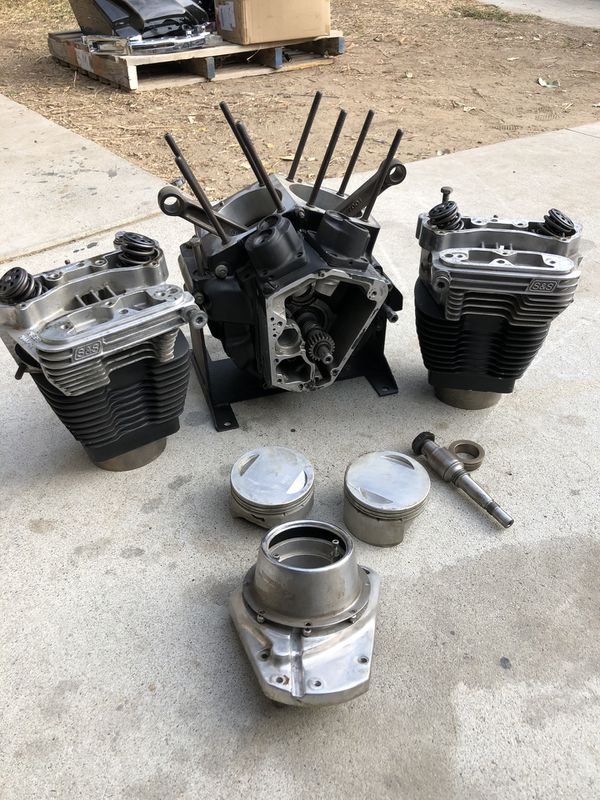 """HARLEY evo 113"""" S&S engine for street glide, road glide,road king,Softail  FXR DYNA for Sale in Fontana, CA - OfferUp"""