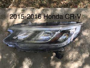 2015 2016 Honda CR-V Left Driver Side Headlight OEM for Sale in Jurupa Valley, CA