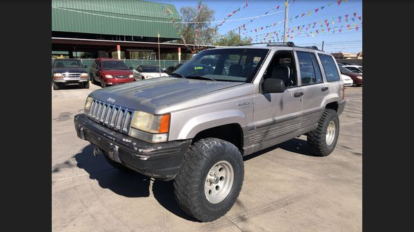 Jeep Grand Cherokee Laredo 4 Inch Lift Cold A C 4x4 Strong