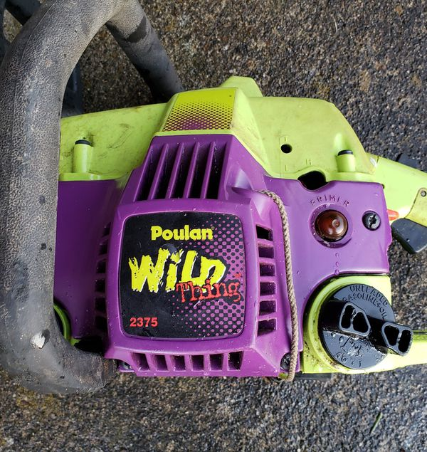 Poulan Wild Thing Chainsaw For Sale In Olympia Wa Offerup