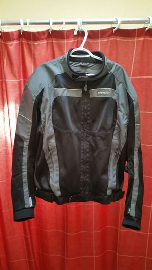 Olympia Moto Sports Cordura Motorcycle Shoulder Elbow Spine Padded Sport Jacket SIZE: 3XL for Sale in Seattle, WA