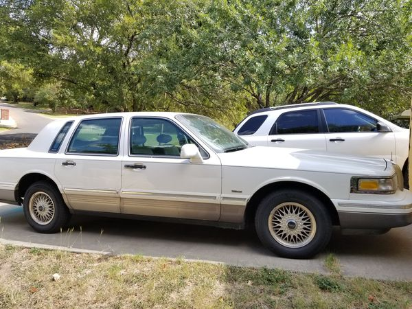 1995 Lincoln Town Car For Sale In Belton Tx Offerup