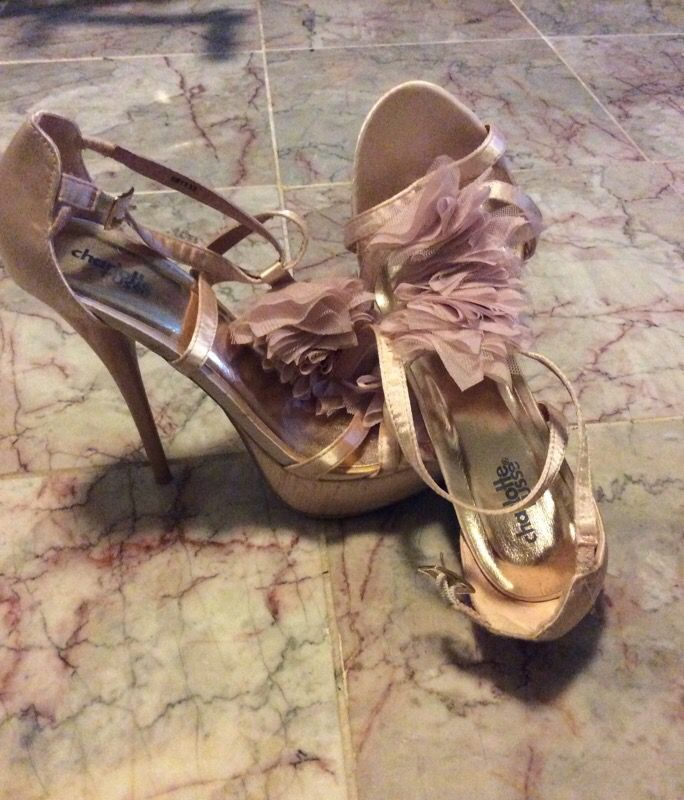 Pink Shoes Size 8