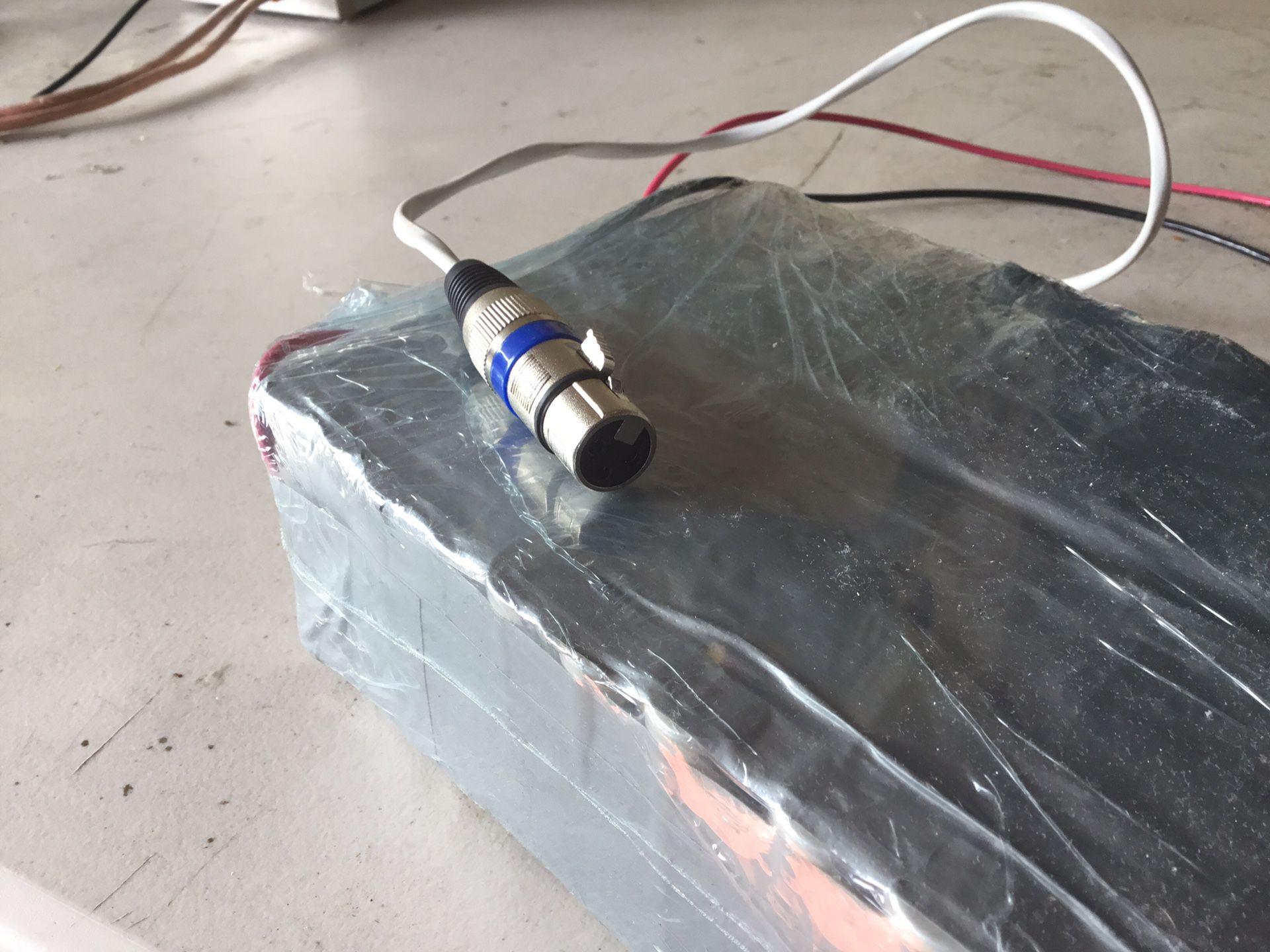 E-Bike Replacement Battery 48v or 36v