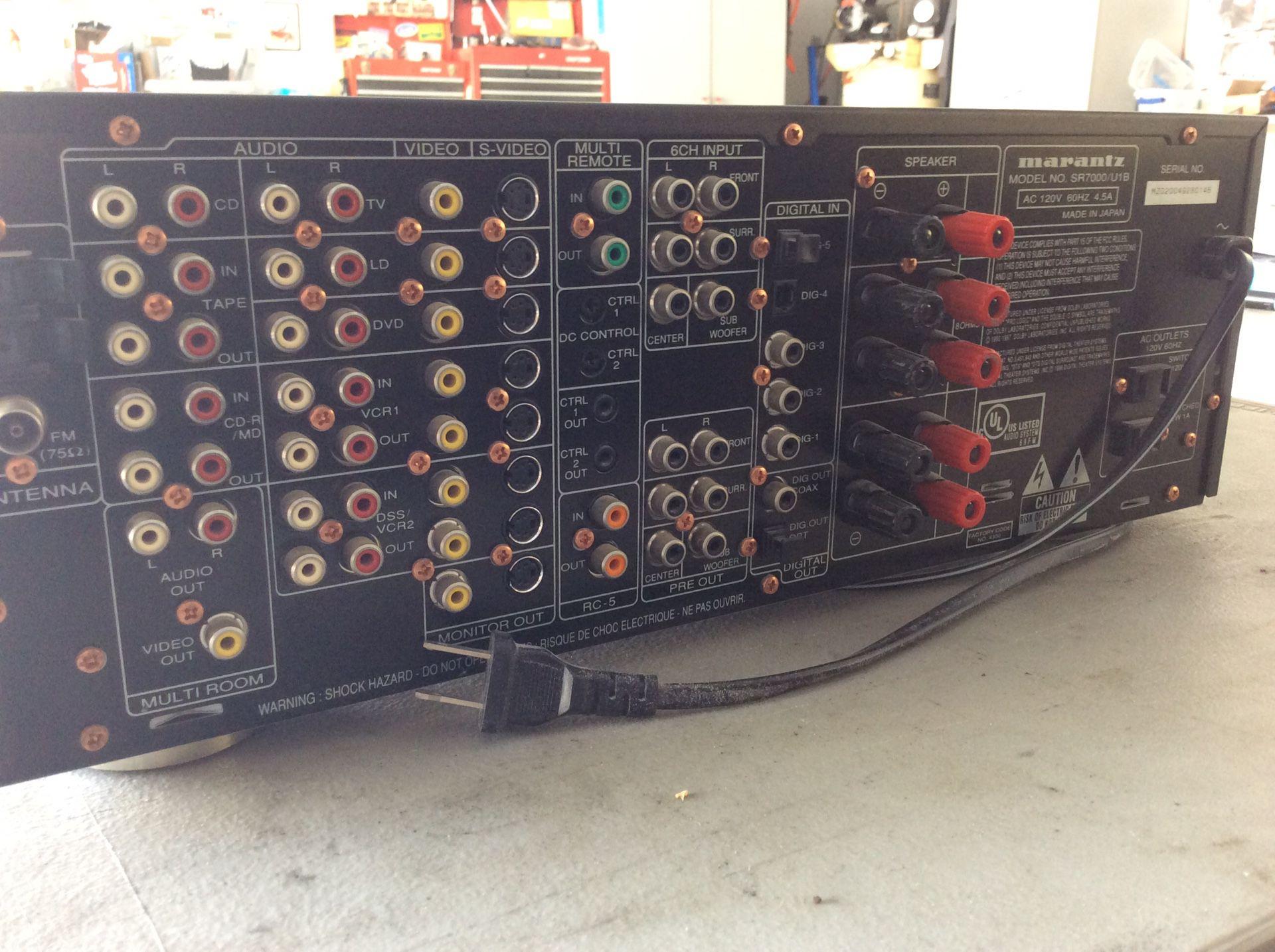 Maranta AV surround receiver SR7000