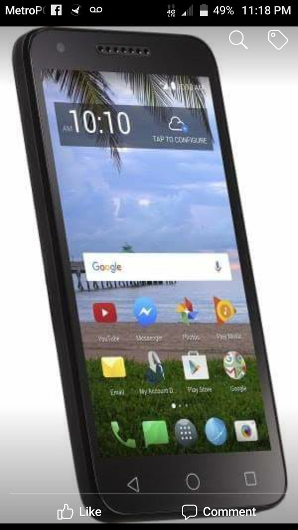 FREE 4G BiG ALCATEL 7 1 ANDROID UNLIMITED DATA SMARTPHONES & SERVICE