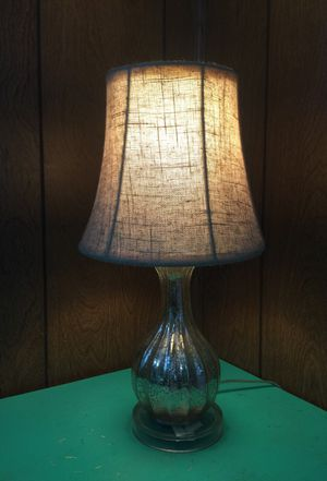 New and used lamp shades for sale in miami fl offerup mosaic silver lamp with beige lamp shade for sale in miami fl aloadofball Image collections