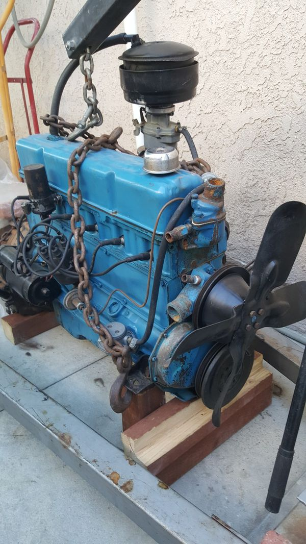 235 Chevy Engine 1955 Great Condition For Sale In