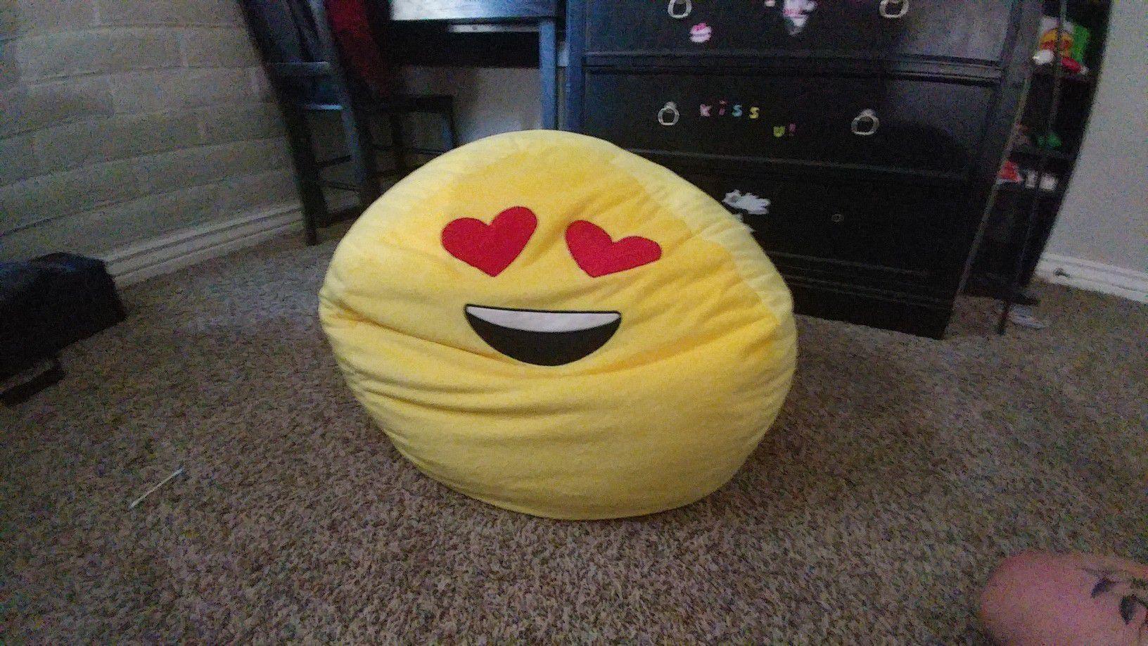 Emoji Bean Bag chair