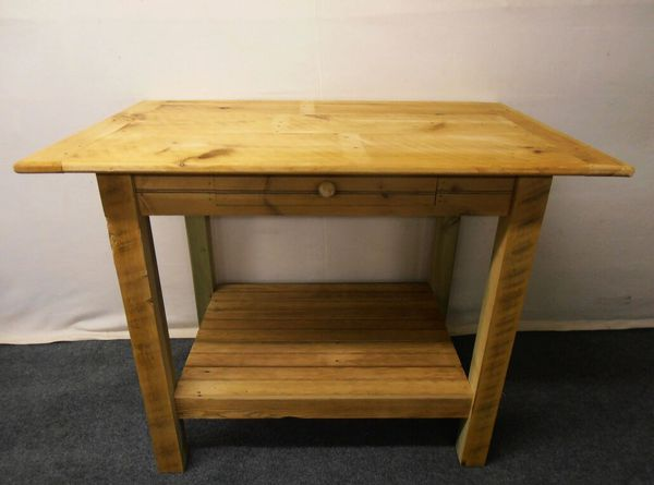 New Unfinished BarnWood Kitchen Island, Finishing Options Available for  Sale in West Chester, PA - OfferUp