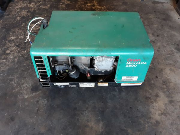 NOT RUNNING Onan microlite 2800 RV generator for Sale in Spring, TX -  OfferUp