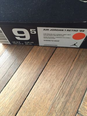 """Air Jordan 1 Retro """"89"""" authentic shoe for Sale in Silver Spring, MD"""