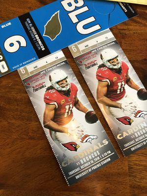 Arizona Cardinals Tickets for Sale in Scottsdale, AZ