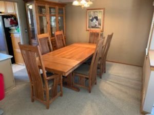 Photo Solid Oak Dining