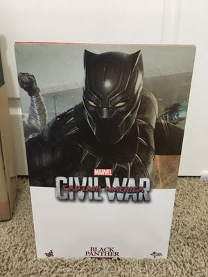 Marvel Black Panther Civil War, Hot Toys 1/6 Scale Collectible Figure for Sale in Rocklin, CA