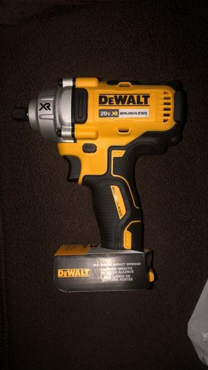 BRAND NEW DEWALT 20V MAX XR IMPACT WRENCH JUST TOOL!! for Sale in Laurel, MD