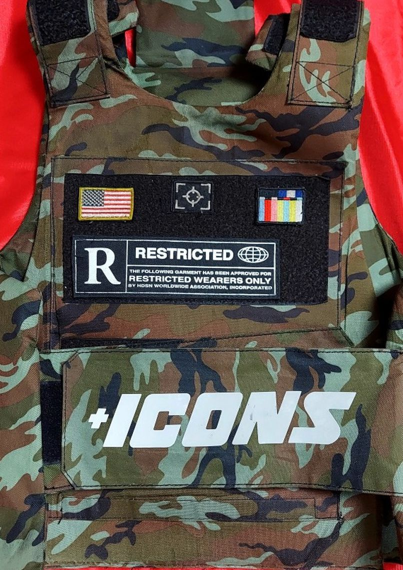 Photo Icon Motorcycle Vest !! $60 Or Best Offer !!