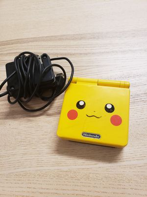 Nintendo sp pikachu limited edition for Sale in Washington, DC
