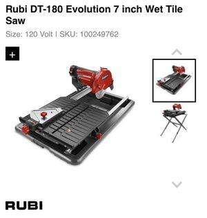 Rubi DT-180 - 7 inch Wet Tile Saw for Sale in Hyattsville, MD