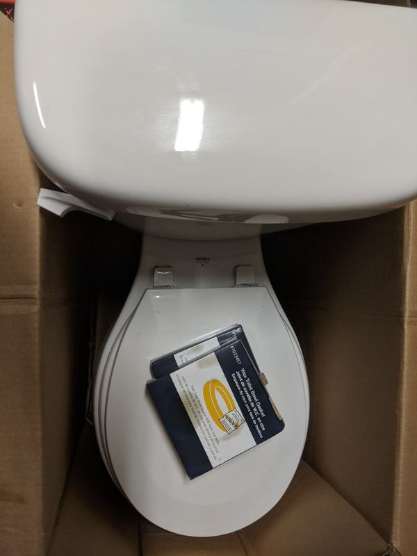 Two Gerber toilets not even a year old for Sale in Youngsville, NC ...