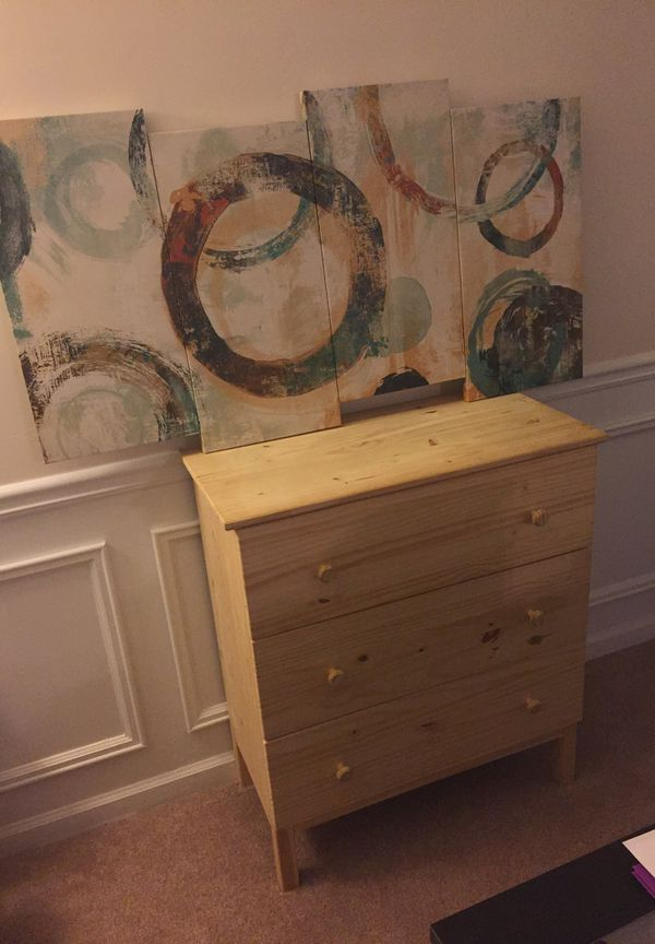 Ikea Tarva 3 Drawer Chest For Sale In Roswell Ga Offerup