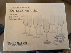 Photo World Market Champagne Entertaining Set
