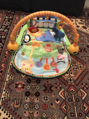 fisher price tummy time/ piano for Sale in Leesburg, VA