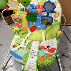 Infant Toddler Vibrating Baby Rocking Bouncer Seat Chair Thumbnail