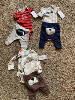 Premi baby outfits tags still on! Thumbnail