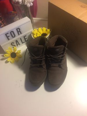 Women's size 8 Brown Timberlands boots for Sale in Baltimore, MD