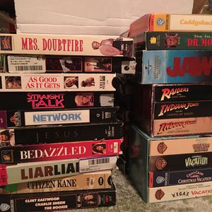 40 VHS Classics for Sale in Fairfax, VA