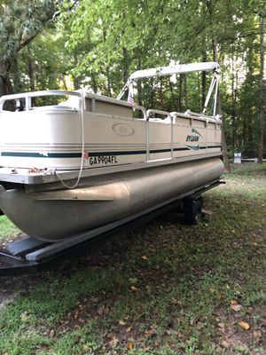 New And Used Pontoon Boat For Sale In Norcross Ga Offerup