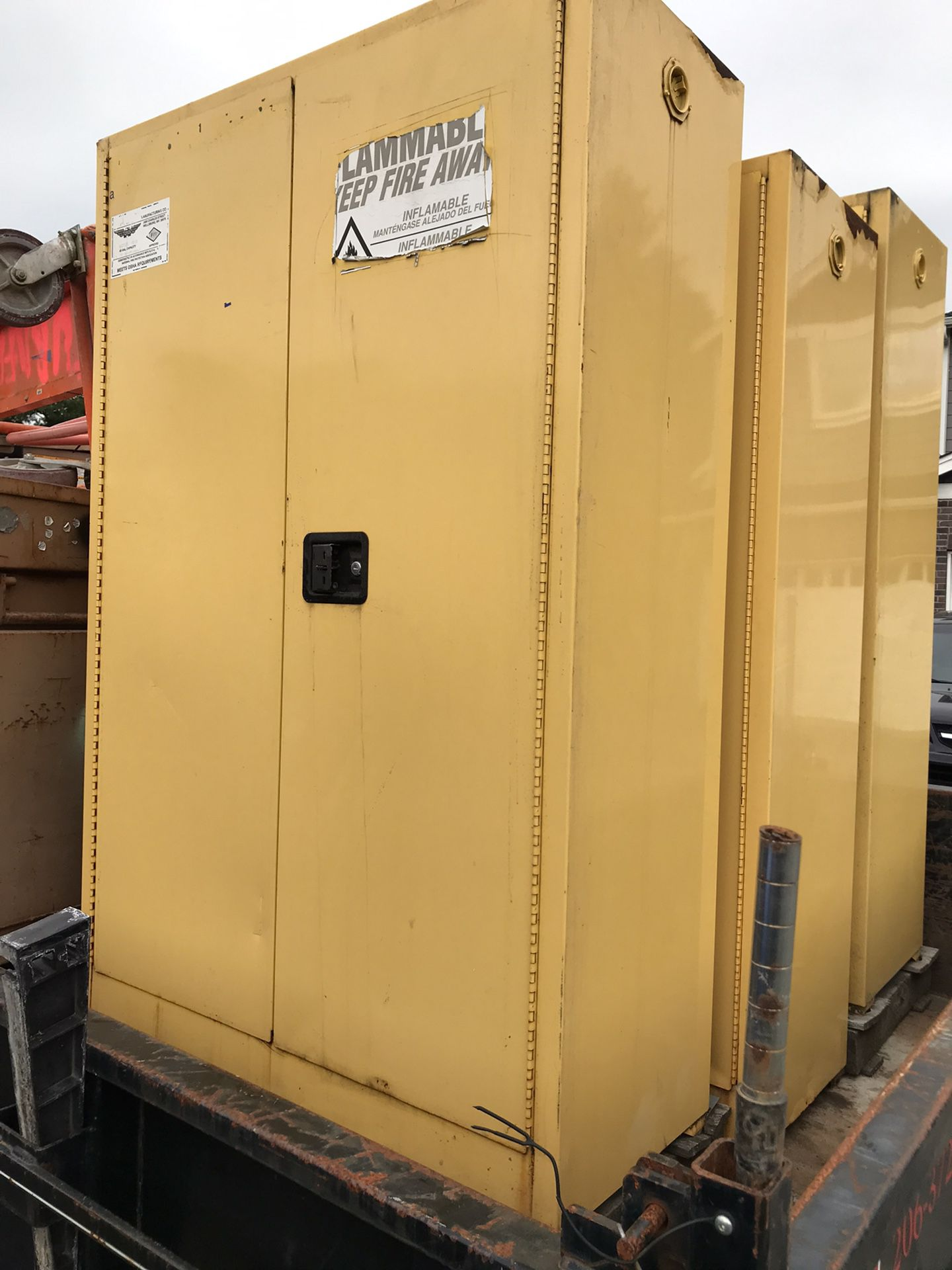 Flammable Fire Cabinets