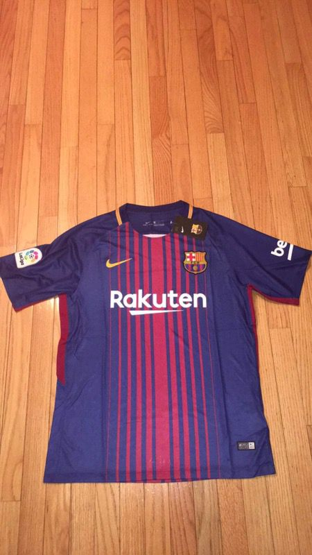 official photos bd232 31bc0 !!!SALE!!! $35->>>$ 19.99 FC Barcelona 2017/18 brand new soccer jerseys for  Sale in Passaic, NJ - OfferUp