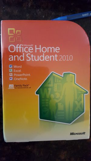 Microsoft office 2010 for Sale in Chevy Chase, MD