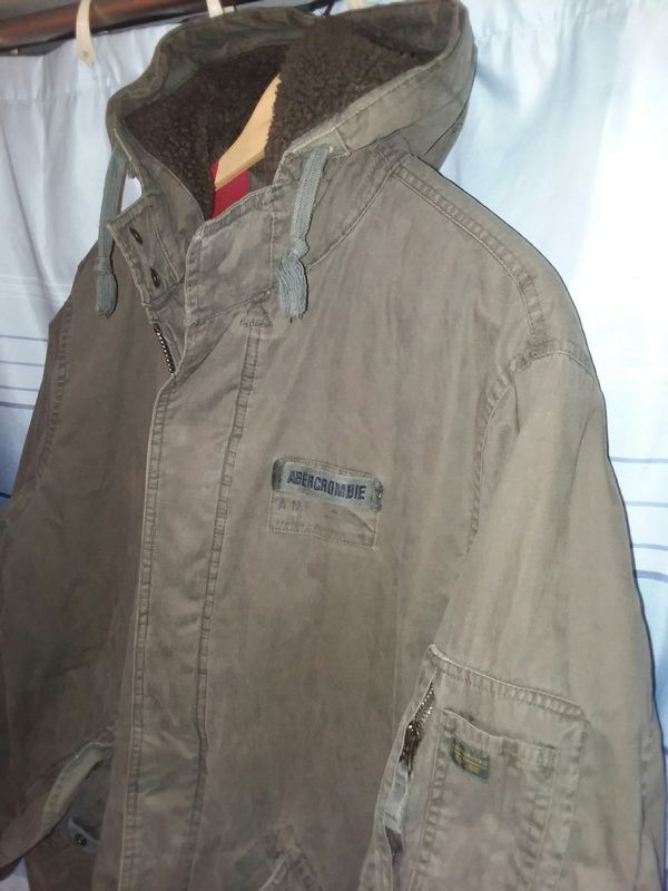 04fbb75bac099 Abercrombie army style jacket for Sale in Winston-Salem, NC - OfferUp