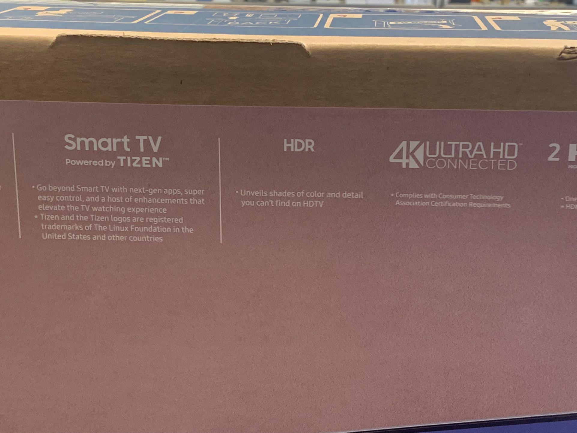 "55"" Samsung Smart 4K UHD Television"