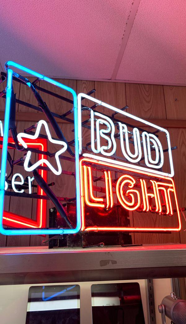 Austin Texas Mikayla Neon: Bud Light Neon Sign For Sale In Austin, TX