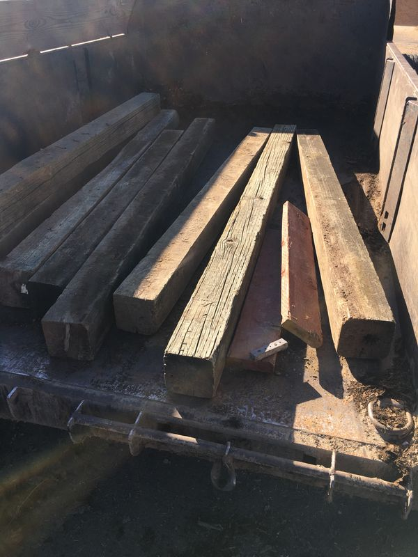 Railroad ties for Sale in Ontario, CA - OfferUp