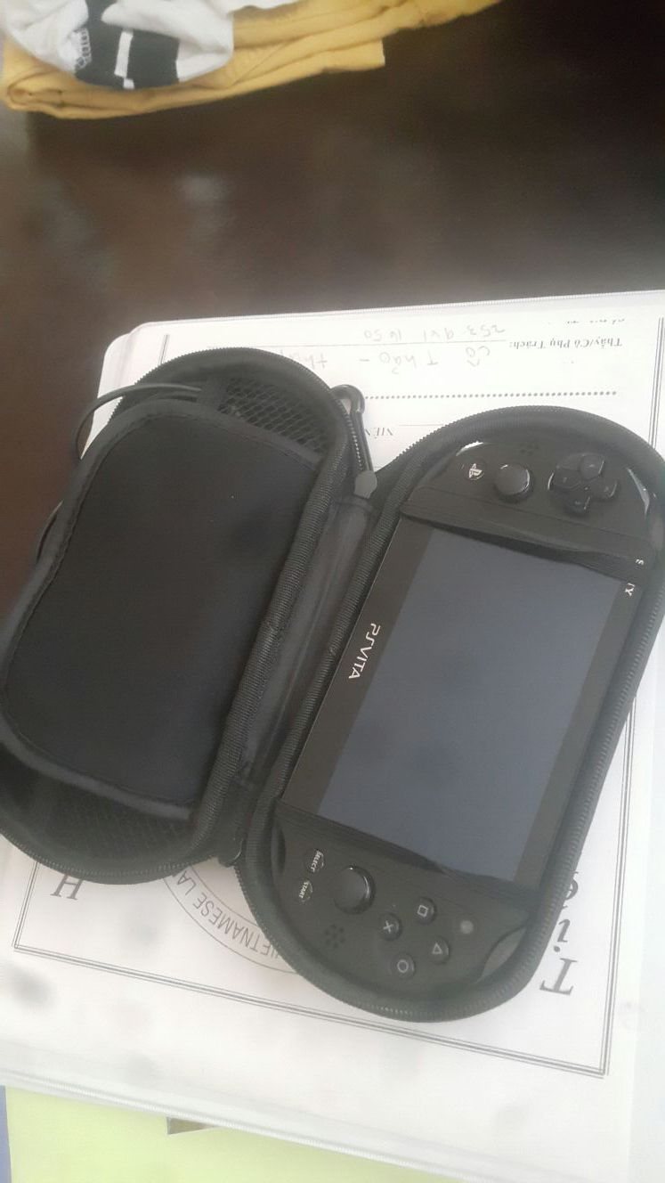 Ps vita with all accessories