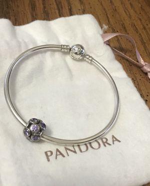 Pandora bracelet with charm for Sale in Rockville, MD