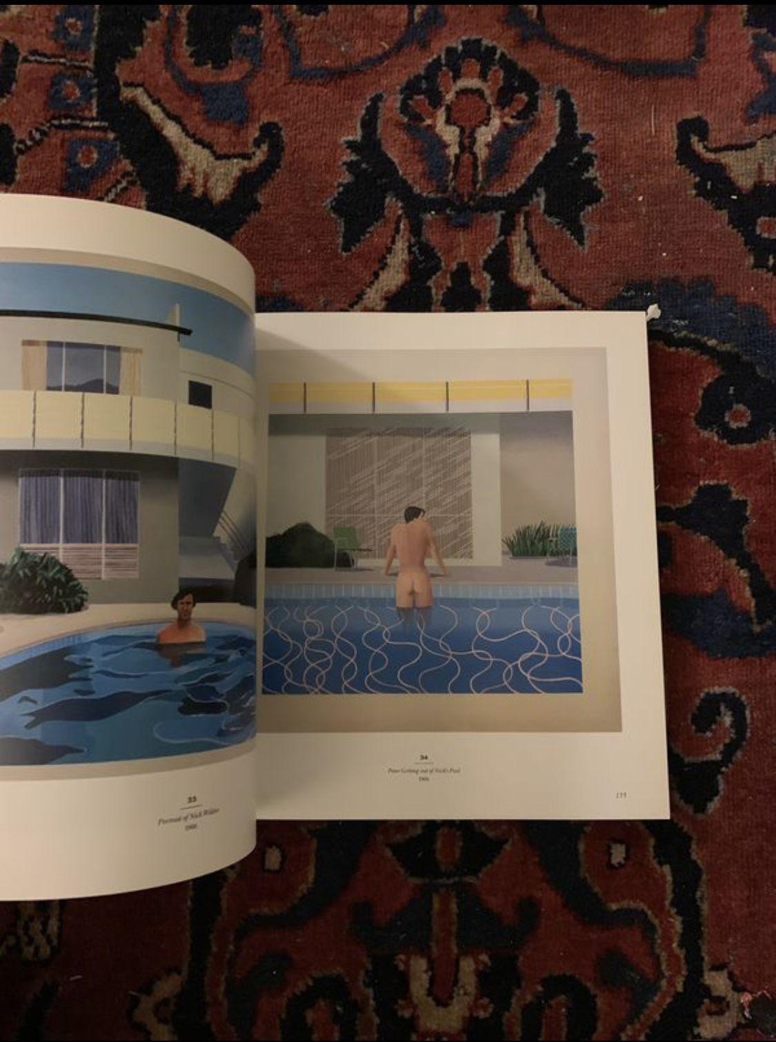 David Hockney: A Retrospective Art Book