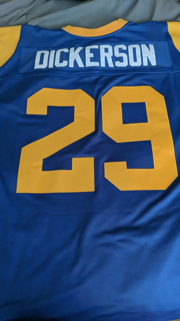 Eric Dickerson Men s Los Angeles Rams Mitchell and Ness 1984 XL (48)  Stitched Jersey for Sale in Yorba Linda 6363ccd57