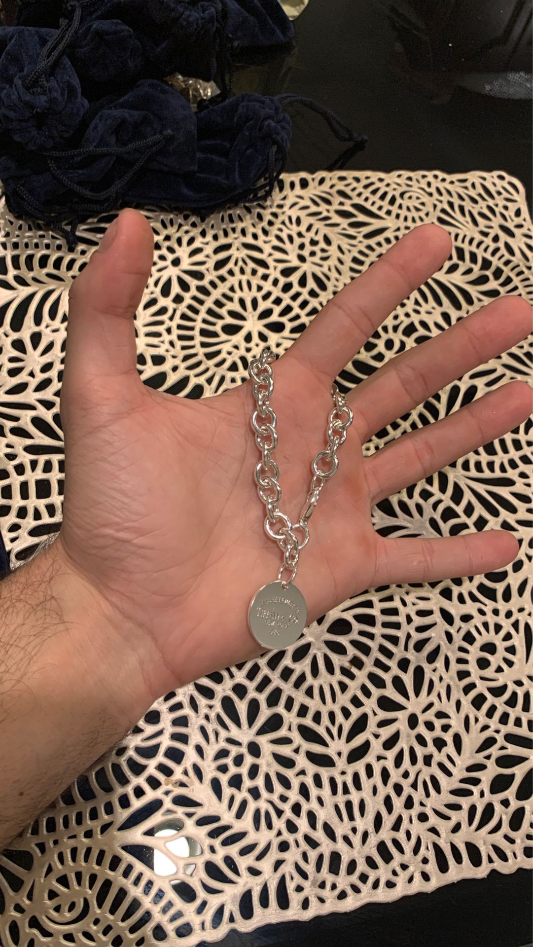 Tiffany & co silver 925 bracelet
