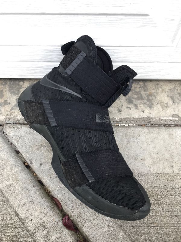 ddc2b11b8e1 Nike Lebron Soldier 10 black space size 10.5 for Sale in Vancouver ...