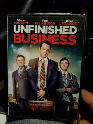 DVD movie unfinished business for Sale in College Park, MD