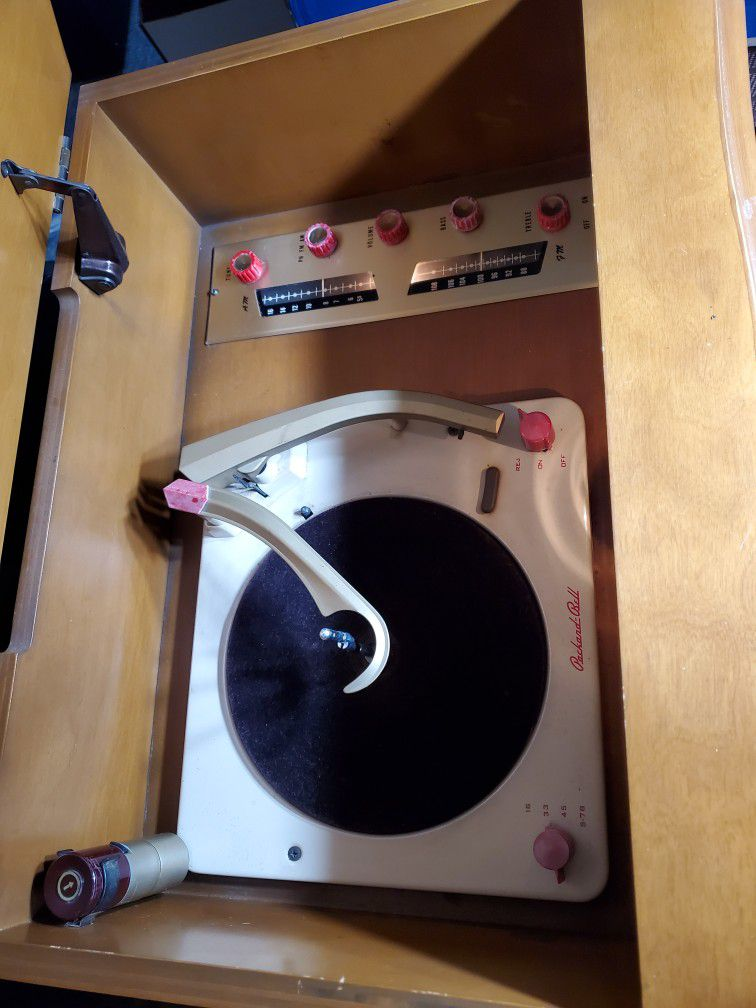 1958 Packard Bell Record/Stereo Console