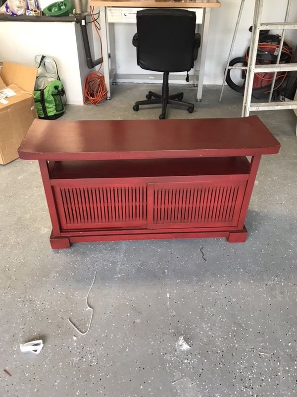 pier 1 tv stand. Red Media Console Cabinet Table Tv Stand Pier 1 For Sale In Boca Raton, FL - OfferUp E