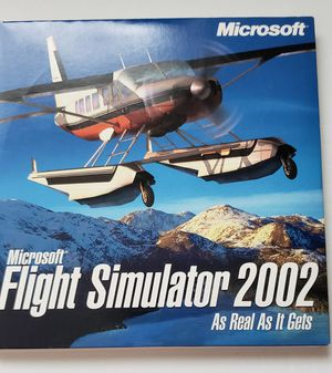 Original Microsoft 2002 Flight Sim for Sale in Midlothian, VA