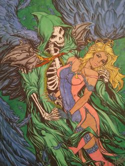 Date With Death Art Print Thumbnail